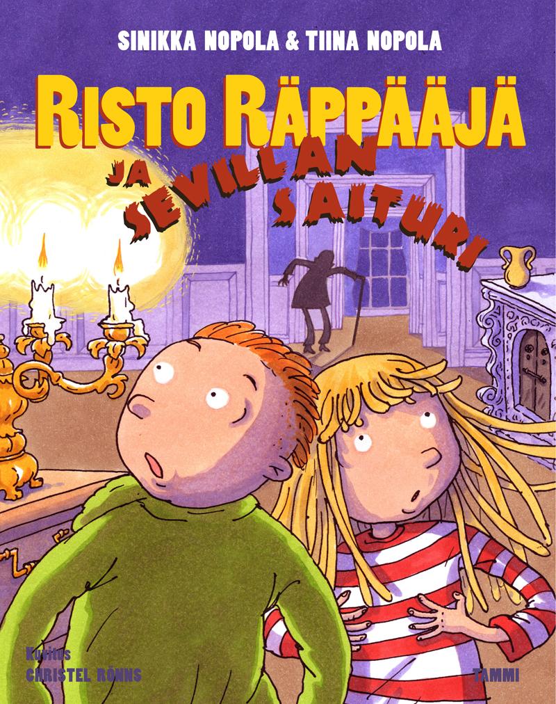 Risto Räppääjä ja Sevillan saituri Tampereen Komediateatterissa kesällä 2016