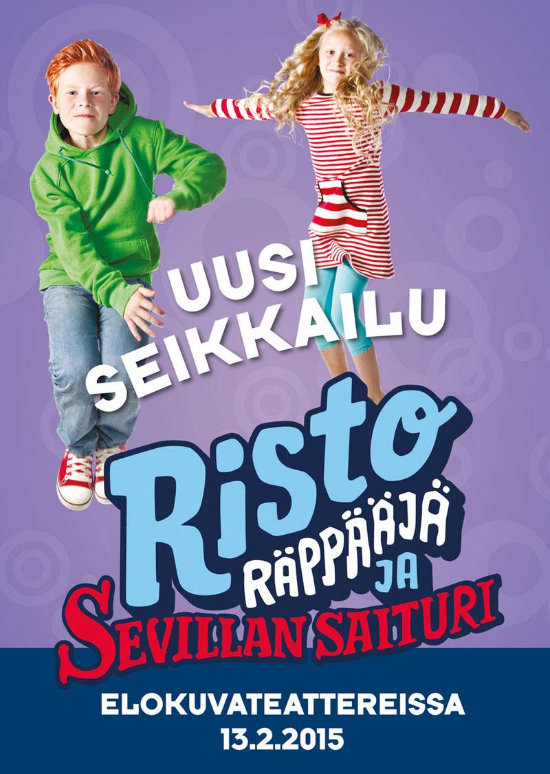 Risto Räppääjä ja Sevillan saituri kuvauksetalkaneet kesällä 2014
