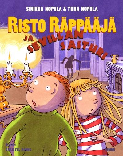 Risto Räppääjä ja Sevillan saituri -kirja ilmestynyt heinäkuussa 2014