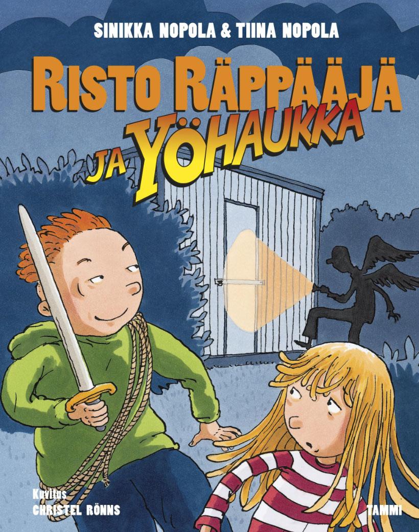 Risto Räppääjä ja yöhaukka ilmestyi heinäkuussa 2015, leffan ensi-ilta 19.2.2016
