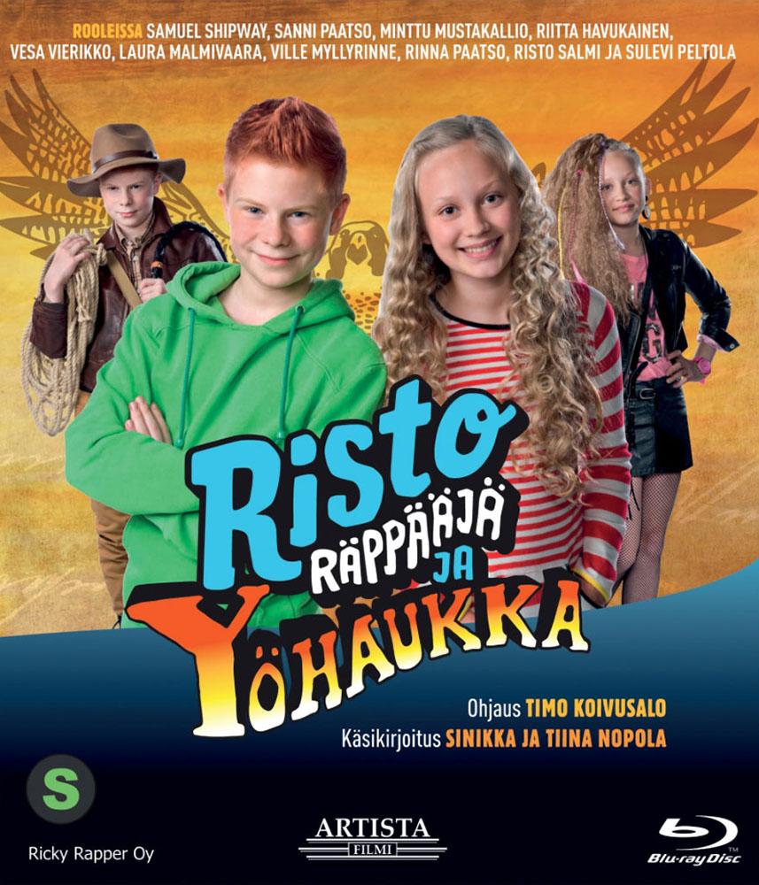 Risto Räppääjä ja yöhaukka DVD:nä ja Blu-ray:nä