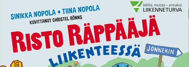 Liikennesäännöt haltuun Risto Räppääjän kanssa