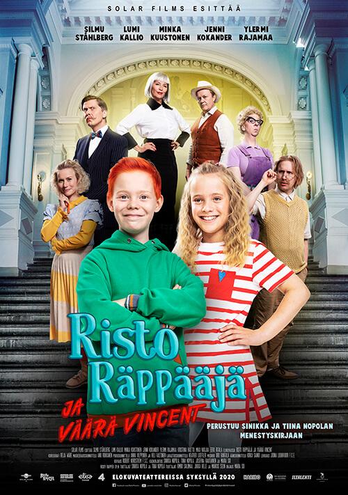 Risto Räppääjä ja väärä Vincent elokuvateattereissa 9.10.2020!