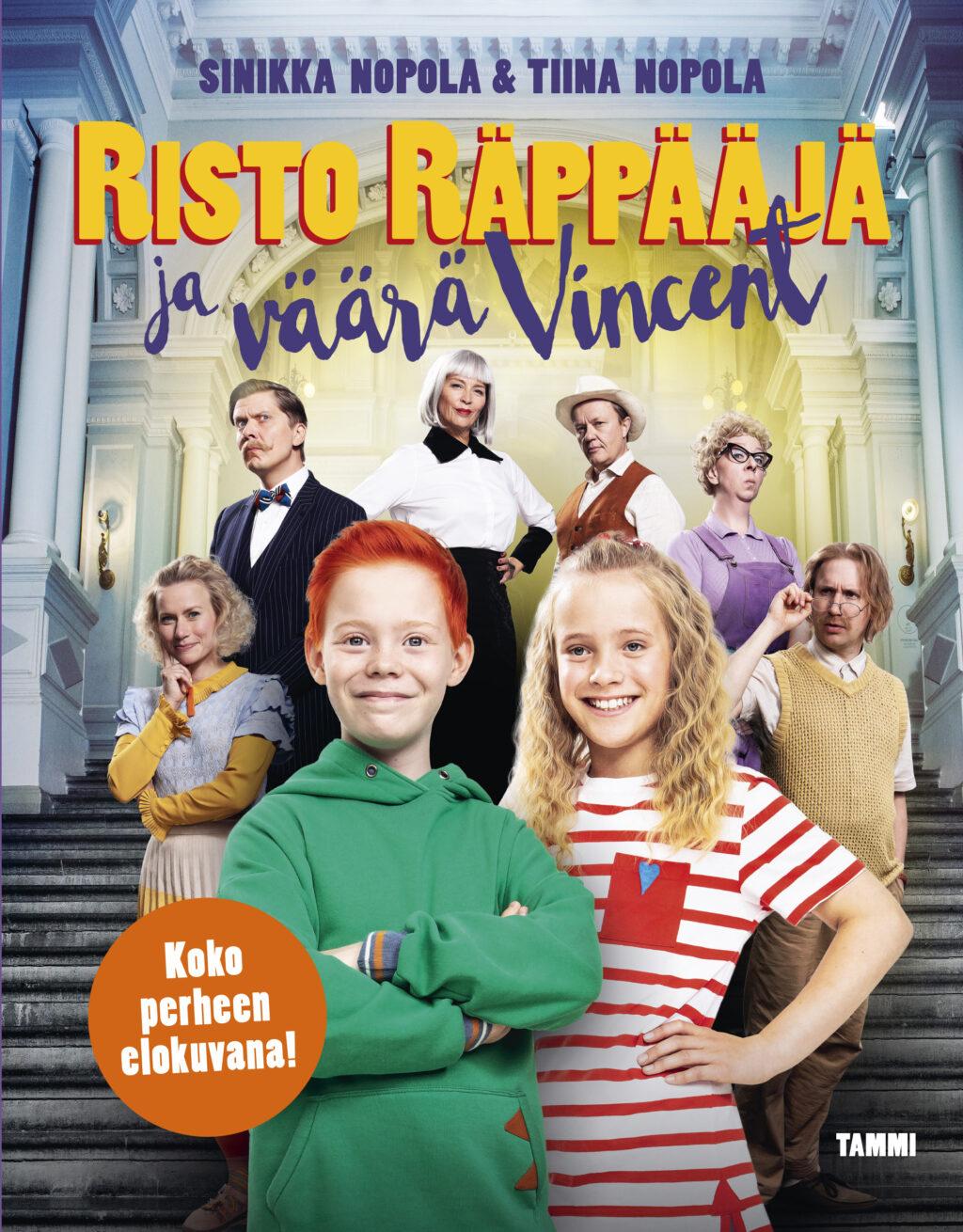 Risto Räppääjä ja väärä Vincent – leffakirja #väärävincentleffakirja 2020